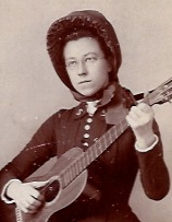 Captain Millie Lick in The Salvation Army c. 1890