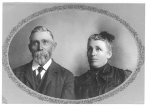 Hans C. and Ida Vinther (grayscale)