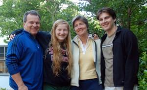 Jeff Koseff, Chloe, Thalia, and Alexei.