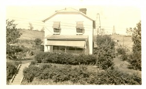 The Gordon home some years later.