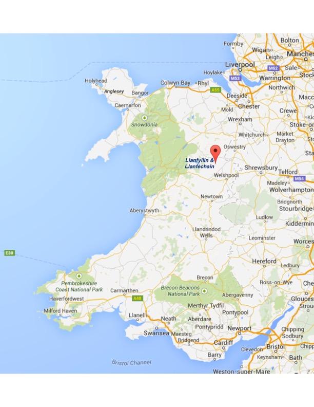 1781 in Wales