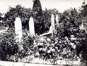 Meyer gravesite at Union Cemetery Redwood City, CA, after 1903