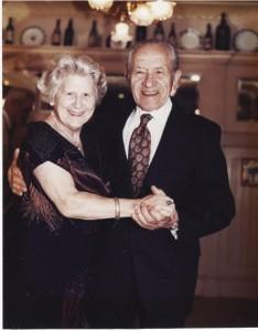 Ilona & Morton Fuchs dancing