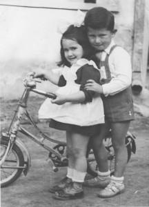 _Marta & Henry Fuchs, Tokaj, Hungary circa 1954