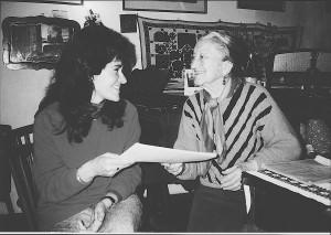 Marta Fuchs with Irénke néni