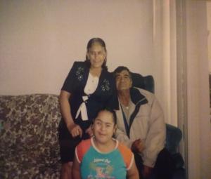 Eva, Ignacio and their daughter