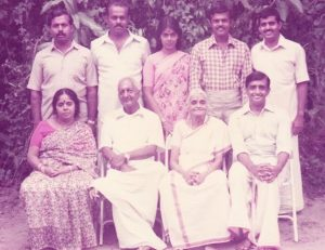 Achan, We Seven with Achan and Amma