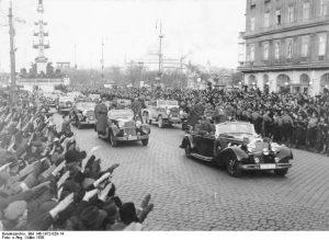 Hitler arrives in Vienna