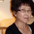 Photo of Y. L. Chew at her home in San Leandro, California, taken circa 2016.